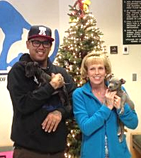 Dancer and Prancer adopted