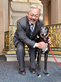 Mayor Lee and Mila