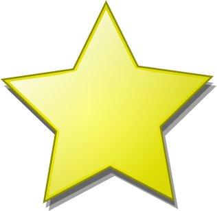 star graphic