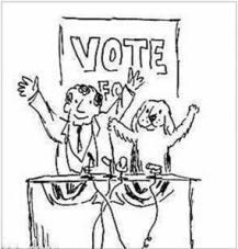 cartoon-dog-vote
